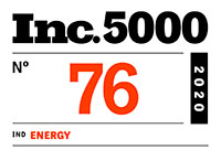 Inc 5000 Rank 76 Energy